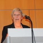 Grußwort Elisabeth Vollmer; Ehrenamtliche